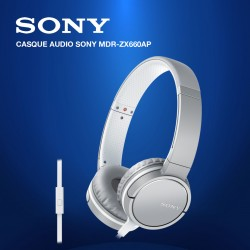 SONY CASQUE AUDIO MDR-ZX660AP