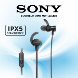 SONY ECOUTEUR MDR-XB510AS