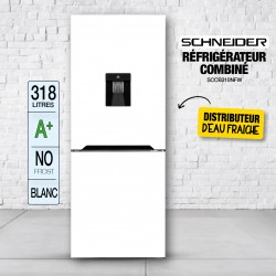 Réfrigérateur combiné 318L...