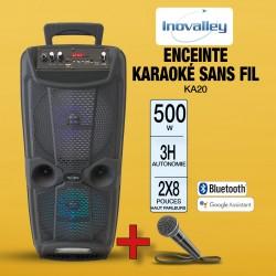 ENCEINTE KARAOKÉ SANS FIL...