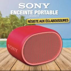 ENCEINTE SONY ROUGE SRSXB01R