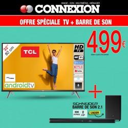 Pack TV 32S618 + Barre de...