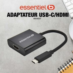 Adaptateur HDMI/USB-C...